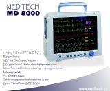 Monitor multi Del Parametro Médico Portatil MD8000 Del Hospital Con La Pantalla Tactil () Meditech