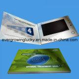 cartão 10inch video como o presente do negócio