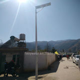 6W-120W al aire libre integró todos en una luz de calle solar solar del jardín LED