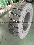 21X9X15 Presionar-en el neumático sólido, neumático sólido del alimentador