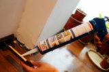 Alto caucho flexible que rebordea el sellante acético del silicón