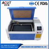 Pequena máquina a laser de CO2 CNC para corte/máquina de gravação a laser