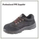 Inyección de PU de alta calidad de la seguridad de cuero zapato de trabajo