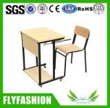 Única mesa de madeira da forma com cadeira (SF-92S)