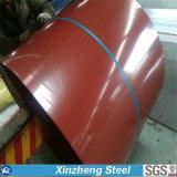 A qualidade principal Prepainted a cor de aço galvanizada da bobina PPGI Ral