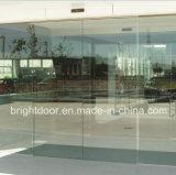 Sin cerco Bifold de aluminio doble acristalamiento de la puerta de la puerta exterior de la prueba de agua