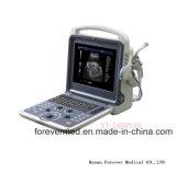 Sistema de escáner de ultrasonido cardíaco de eco Doppler de color portátil Yj-U60plus