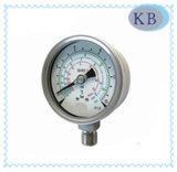 calibre de pressão do Refrigeration de 63mm