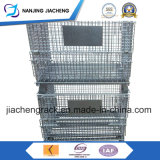 販売のための頑丈な倉庫の鋼線の網の容器