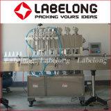 Tipo linear en botella animal doméstico máquina de rellenar de Labelong del aceite de mesa