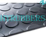 Runde Tasten-Gummiblatt Rolls; Gummimatte