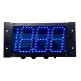 4 pollici 18.88 LED Semi-Esterno Boardcontrolling in motociclo della cifra LED del Button Key 12V che corre schermo
