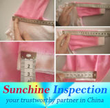 衣類の品質管理およびテストのための赤ん坊の衣類の品質の点検サービス/熟練した検査官