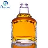 Bottiglia di vino quadrata con il vetro di silice