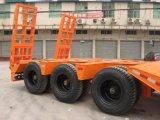 40 pies escogen el acoplado de Lowbed del neumático