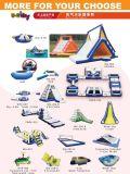 Jeu de l'eau gonflable flottante Parc Aquatique sur mer