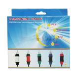 4 в 1 Компонентный кабель для PS2 и PS3/Wii/XOBX360
