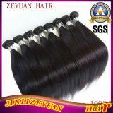 7Um grau reto de Seda Tecelagem de fio de cabelo humano Remy Peruano Virgem Cabelo peruana