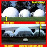 Structure de gros diamètre 12m dôme géodésique tente pour banquet de plein air