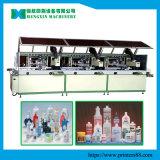 3 Farben-vollautomatische Bildschirm-Drucken-Maschine auf Plastikflaschen