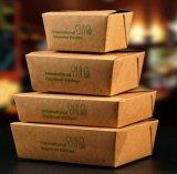 Papel de Kraft con la capa del PE para la fabricación de cajas del almuerzo