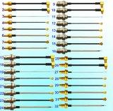 RF que coneta os conjuntos de cabo coaxial