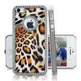 O Chrome Diamond Leopard caso para iPhone5