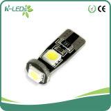 Canbus LED 3SMD 6000k T10 LEDの球根