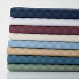 Комплекты листа постельных принадлежностей сатина нашивки Commerical в полотне больничной койки