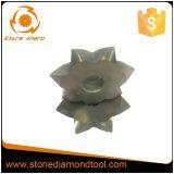 시멘트가 발라진 탄화물 절단기 이 다이아몬드 부시에 의하여 망치로 쳐지는 롤러
