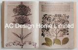 جيّدة علم نبات [بو] [لثر/مدف] خشبيّة كتاب شكل جدار فنية