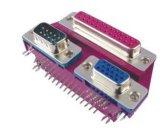 Connecteur de pile D-SUB Connecteur ordinaire pour l'ordinateur 25/9+H. D15