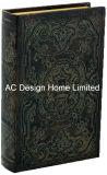 Antigüedades especial relieve Vintage de cuero de PU/almacenamiento de madera MDF cuadro Libro
