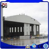 Edificios de acero prefabricados del departamento del metal para el taller, almacén, hangar de los aviones