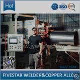 Línea de producción automática de tambores de acero de control de alta frecuencia