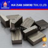 Diamant-Segment für Marmorgranit anderer Stein und konkreter Ausschnitt