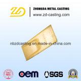 Peças fundidas de máquinas de Mineração de OEM com aço forjado de alto teor de manganês