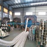 Гибкая резиновый машина заплетения стального провода шланга