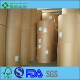 De grado alimentario desechables recubierto de PE para el papel de embalaje de alimentos