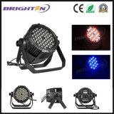 54 * 3W IP65 DMX Stage Lighting LED RGBW PAR Stage Light