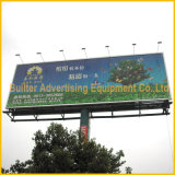 Outdoor Light Pole Publicidade Trivision Billboard