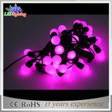 純粋なカラー球LEDの休日の装飾のモチーフストリングライト