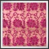Красивейший шнурок вышивки сетки шнурка вышивки цветка