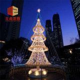 LED 3Dの滝のモチーフFの照明噴水の正方形のクリスマスの装飾の氾濫Ourdoorlight
