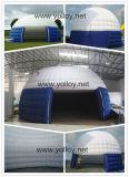 De opblaasbare Tent van de Koepel voor Tentoonstelling toont