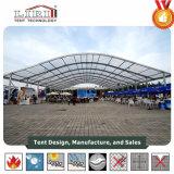 tentes extérieures d'événement d'Arcum de dessus d'espace libre de largeur de 30m avec le flanc ouvert pour des sports