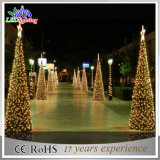 LED PVC Garland Artificial Christmas Tree Decoração de Natal Light