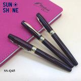 Cadeau d'affaires de gros stylo plume d'écriture rapide du rouleau lisse