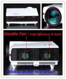 Projecteur portatif 3500lumens d'affichage à cristaux liquides de projecteur de 720p DEL