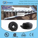 Commerce de gros 50m de câble de chauffage de dégivrage de toit